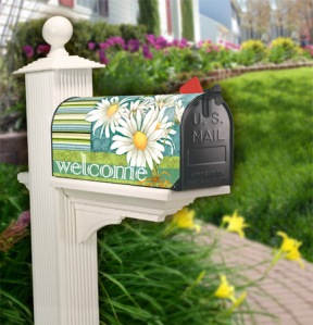 What better way to welcome friends and neighbors than with a beautifully decorated mailbox.
