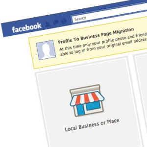 Picture of Facebook's Profile to Business Page Migration Tool