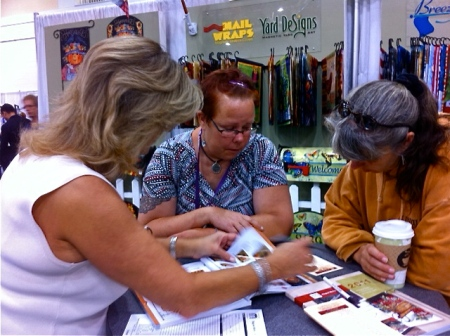 New Customer Linvilla Orchards working with Deb Baker at IGC Show