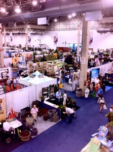 A bird's eye view of the IGC Show.