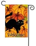 Pumpkin Patch Cat by Jennifer Brinley