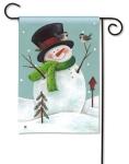 Woodland Snowman by Diane Arthurs