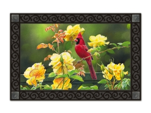 Rose Garden Cardinal by Susan Bourdet