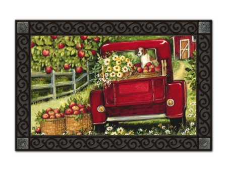 Red Truck by Susan Winget
