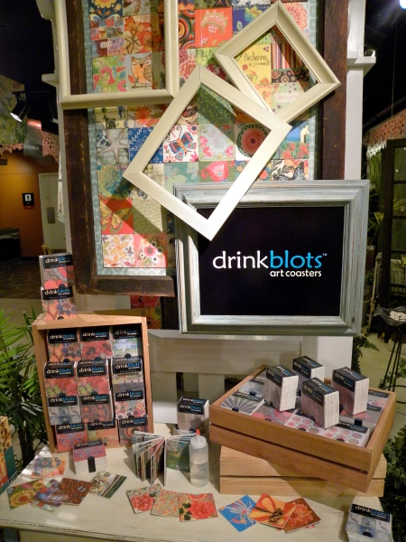 DrinkBlots Display