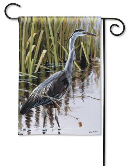 Blue Heron by Peter Mathios