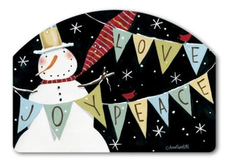 Snowman Celebration by Anne Tavoletti
