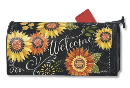 Sunflower Chalkboard by Jennifer Brinley