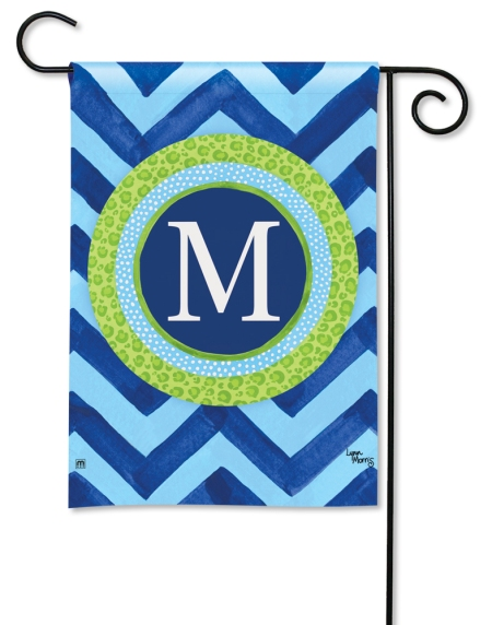 Chevron Monogram by Lynn Morris