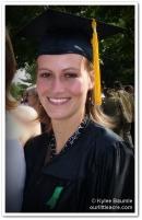 Jenna on graduation day, 2005