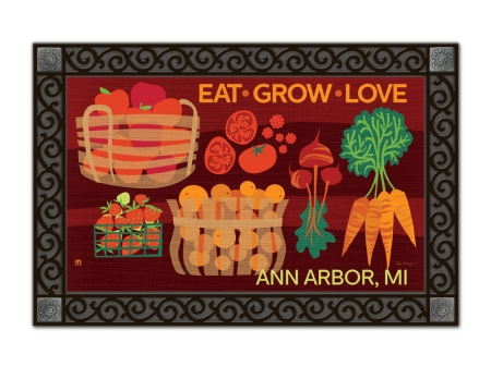 Eat Grow Love by Robin Pickens