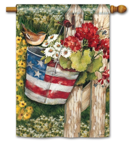 Patriotic Pail by Susan Winget