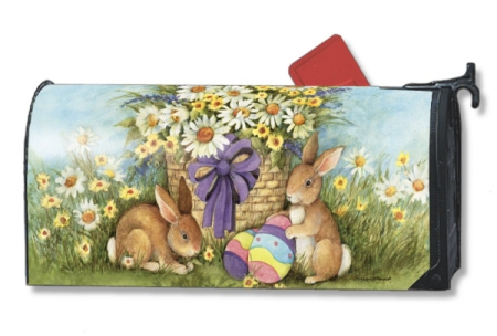 Easter Bunnies MailWrap by Susan Winget