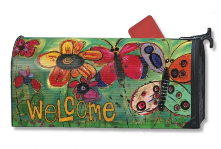 Garden Welcome MailWrap by Stephanie Burgess