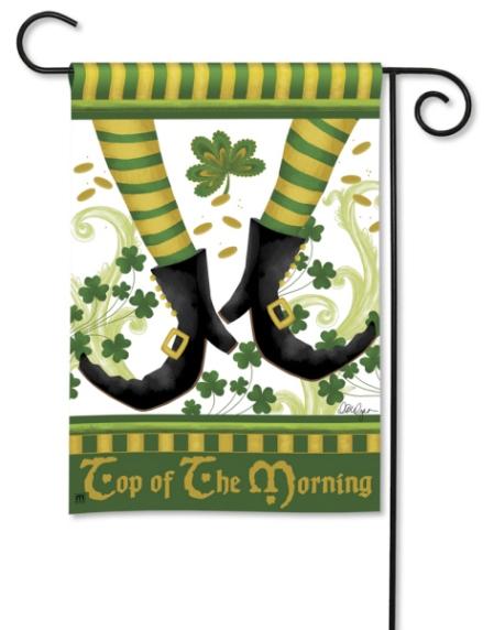 Irish Jig BreezeArt Garden Flag by Lorilynn Simms
