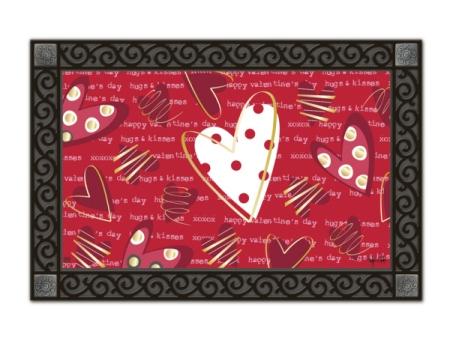 Valentine Hearts MatMate by Victoria Hutto