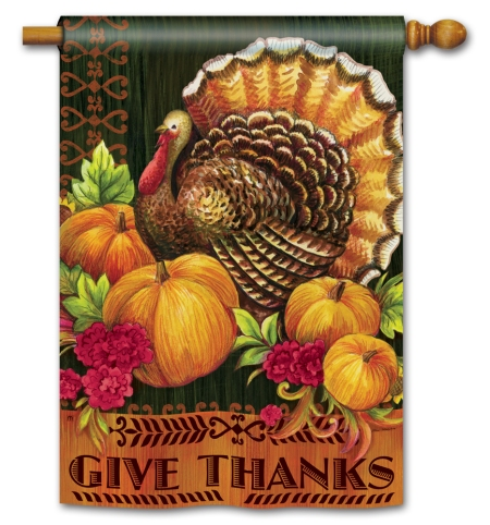 """Give Thanks Turkey"" by Elena Vladykina SKU: 91026"