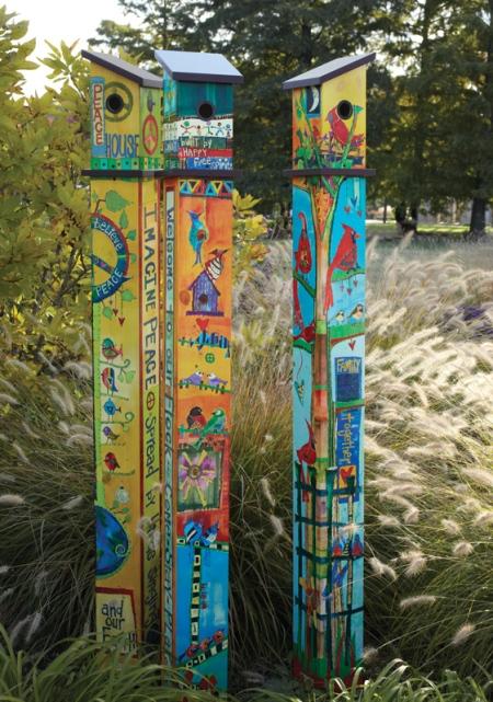 Birdhouse-Poles