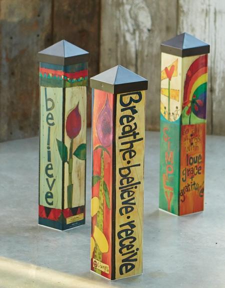 """20"""" Art Poles"""