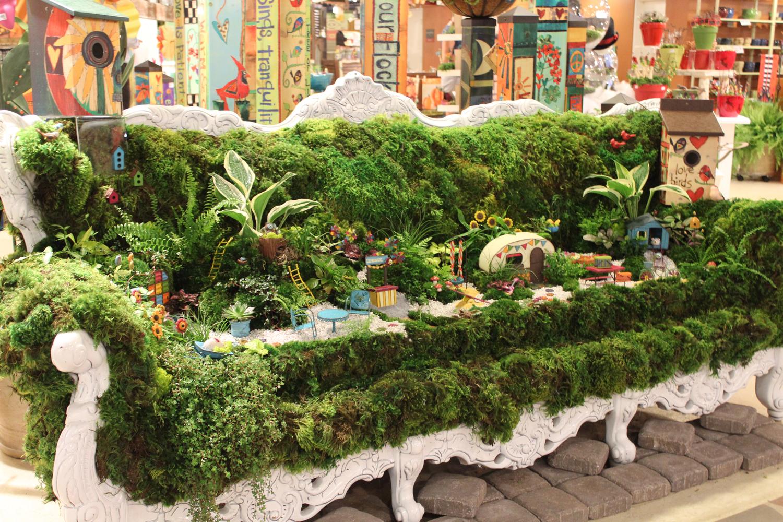Retail merchandising display tips atlanta market july for Garden display ideas
