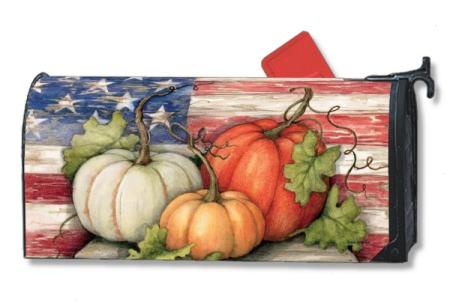 Patriotic Pumpkins MailWrap 01040