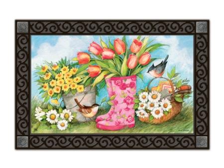 """Garden Boots"" by Susan Winget SKU: 11104"
