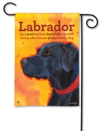 """Black Lab"" by Ursula Dodge SKU: 31165"