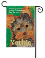 """Yorkie"" by Ursula Dodge SKU: 31167"