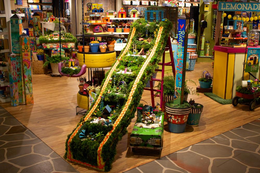 Merchandising magnet works blog for Garden display ideas