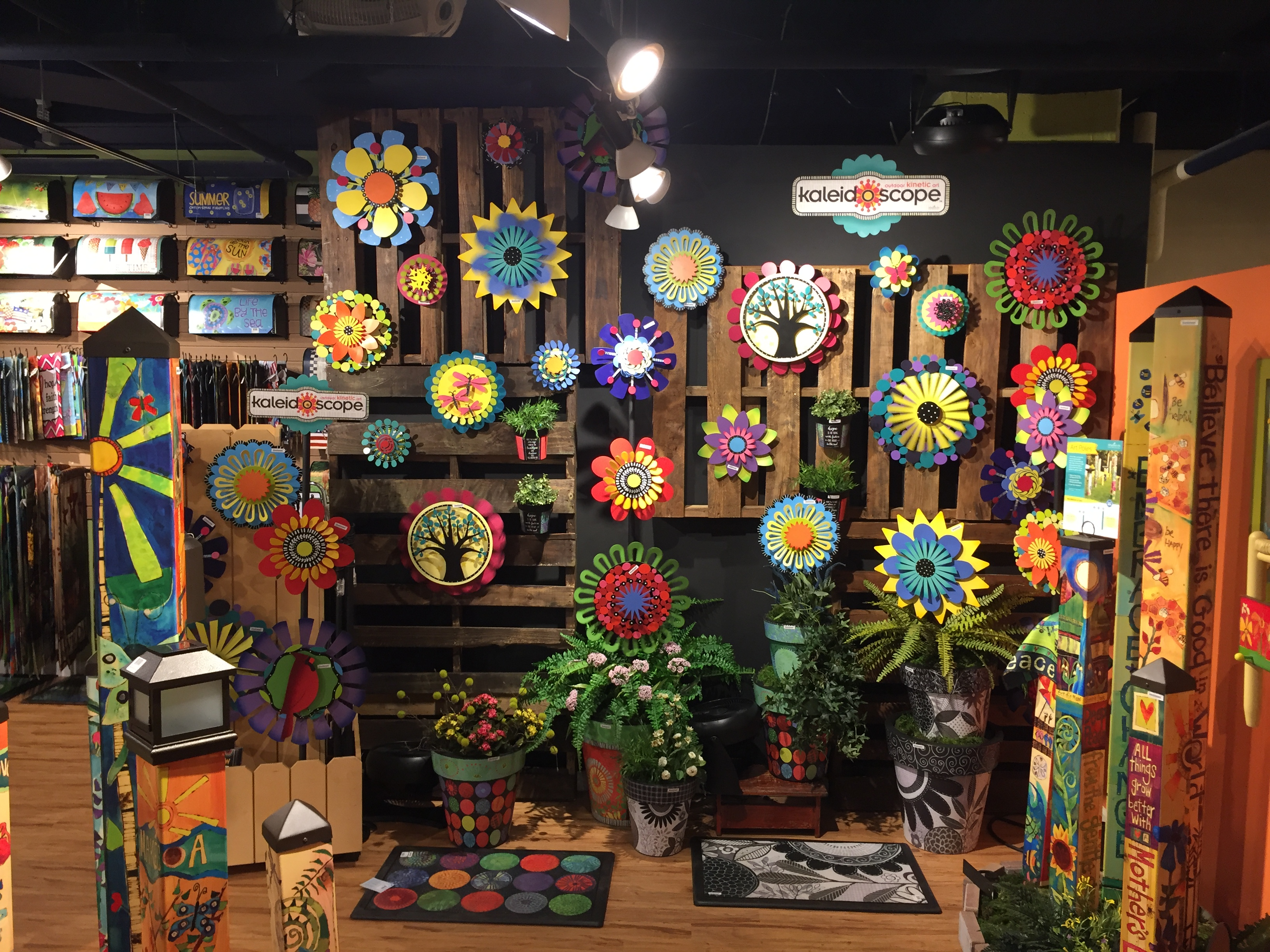 HOW TO: Putting Together A Kaleidoscope Display Is So Easy. Just Choose A  Wall In Your Store And Plan Out Where Youu0027ll Want Each Kinetic Sculpture,  ...