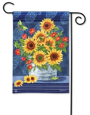16-31440-Denim Sunflowers-Jennifer Brinley