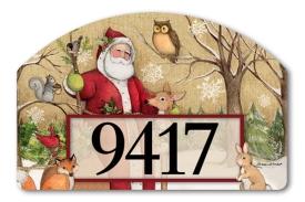 5-71394-Woodland Santa-Susan Winget