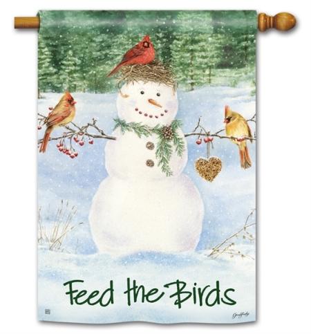 8-91374-Snowman Birdfeeder-Jane Shasky